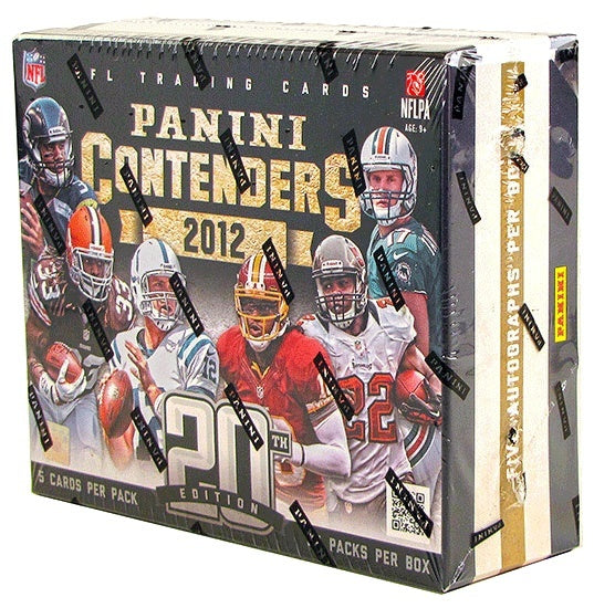 2012 Panini Contenders Football Hobby Box-Cherry Collectables