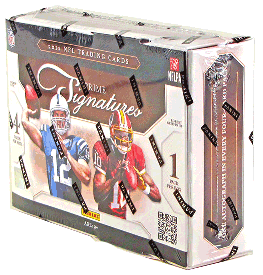 2012 Panini Prime Signatures Football Hobby Box-Cherry Collectables