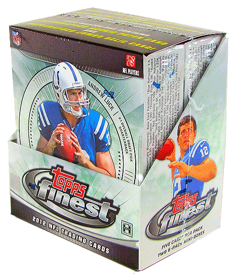 2012 Topps Finest Football Hobby Box-Cherry Collectables