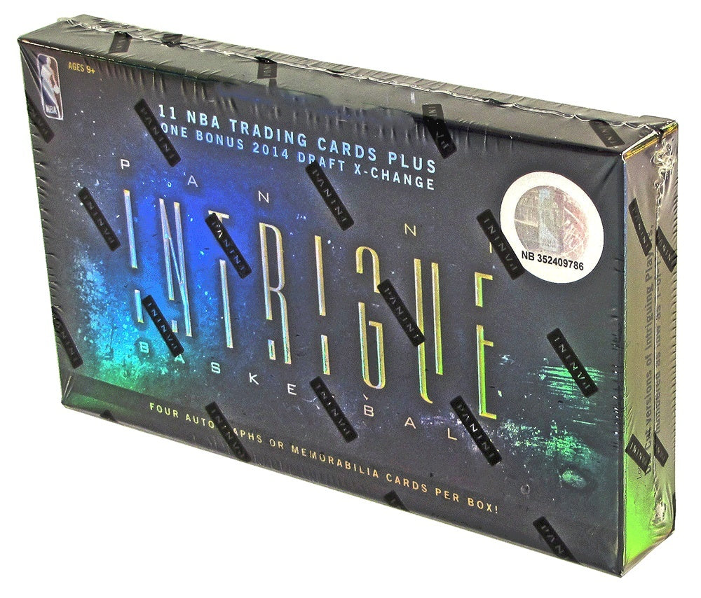 2013/14 Panini Intrigue Basketball Hobby Box-Cherry Collectables