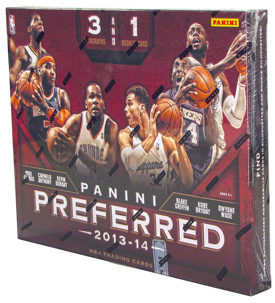 2013/14 Panini Preferred Basketball Hobby Box-Cherry Collectables