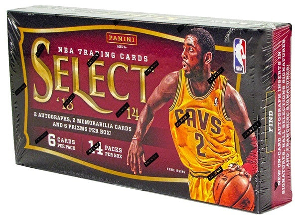 2013/14 Panini Select Basketball Hobby Box-Cherry Collectables