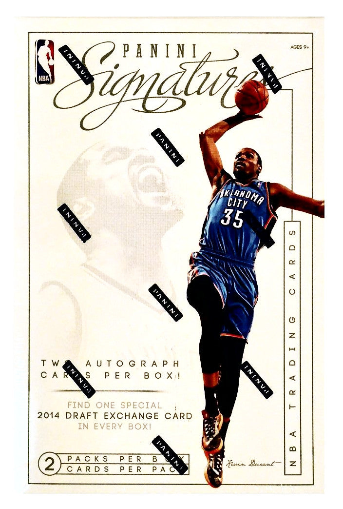 2013/14 Panini Signatures Basketball Hobby Box-Cherry Collectables