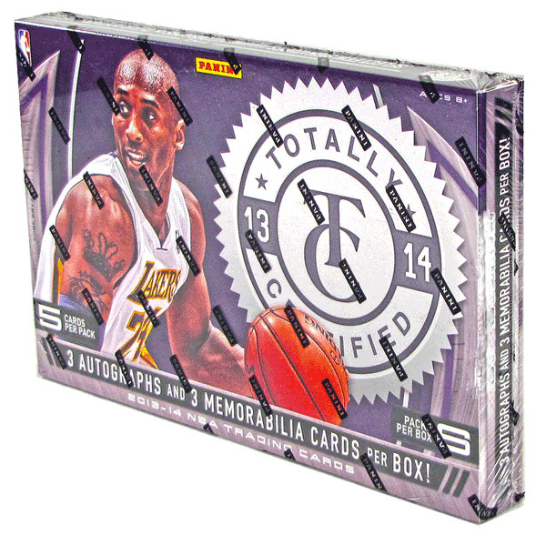 2013/14 Panini Totally Certified Basketball Hobby Box-Cherry Collectables