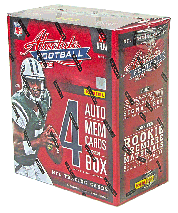 2013 Panini Absolute Football Hobby Box-Cherry Collectables