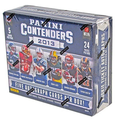 2013 Panini Contenders Football Hobby Box-Cherry Collectables