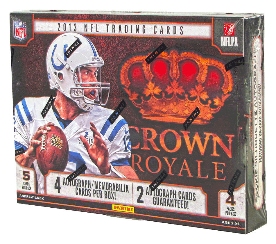 2013 Panini Crown Royale Football Hobby Box-Cherry Collectables