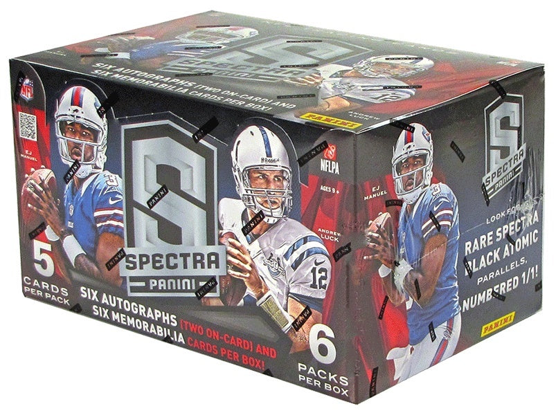 2013 Panini Spectra Football Hobby Box-Cherry Collectables