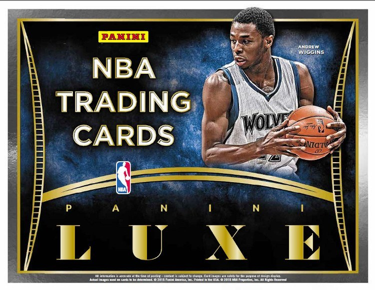 2014-15 Panini Luxe Basketball Hobby Box-Cherry Collectables