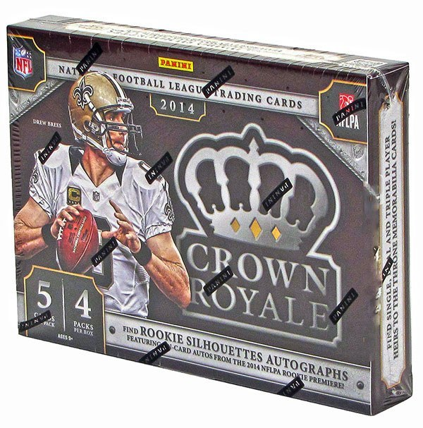 2014 Panini Crown Royale Football Hobby Box-Cherry Collectables