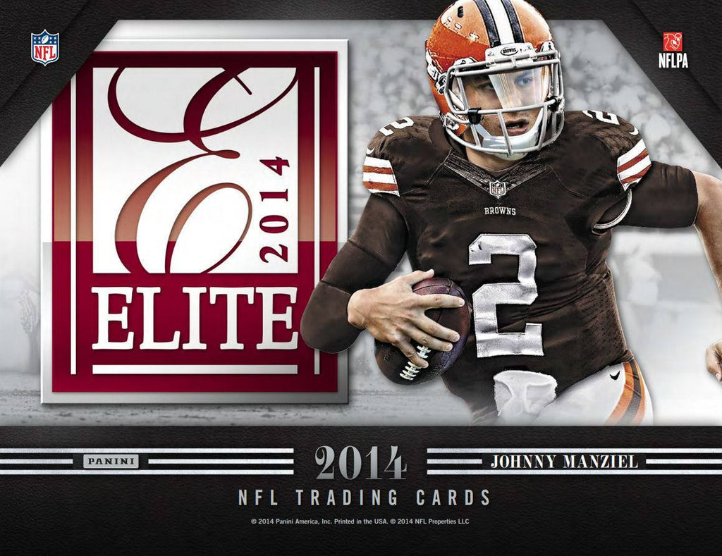 2014 Panini Elite Football Hobby Box-Cherry Collectables