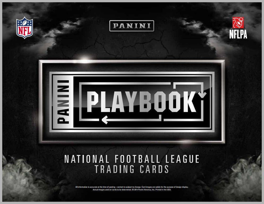 2014 Panini Playbook Football Hobby Box-Cherry Collectables