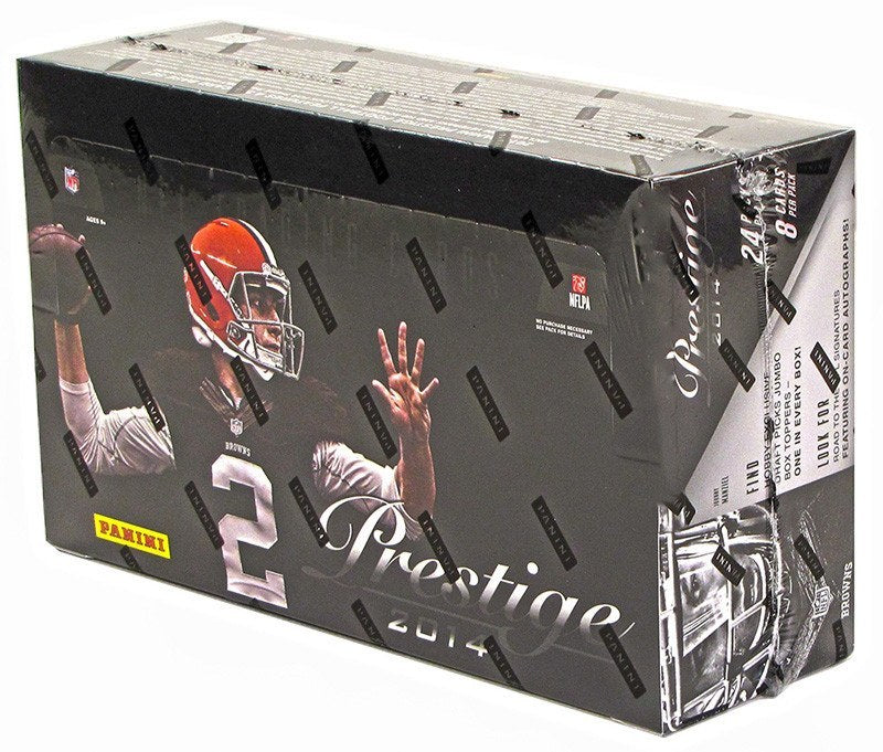 2014 Panini Prestige Football Hobby Box-Cherry Collectables