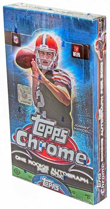 2014 Topps Chrome Football Hobby Box-Cherry Collectables
