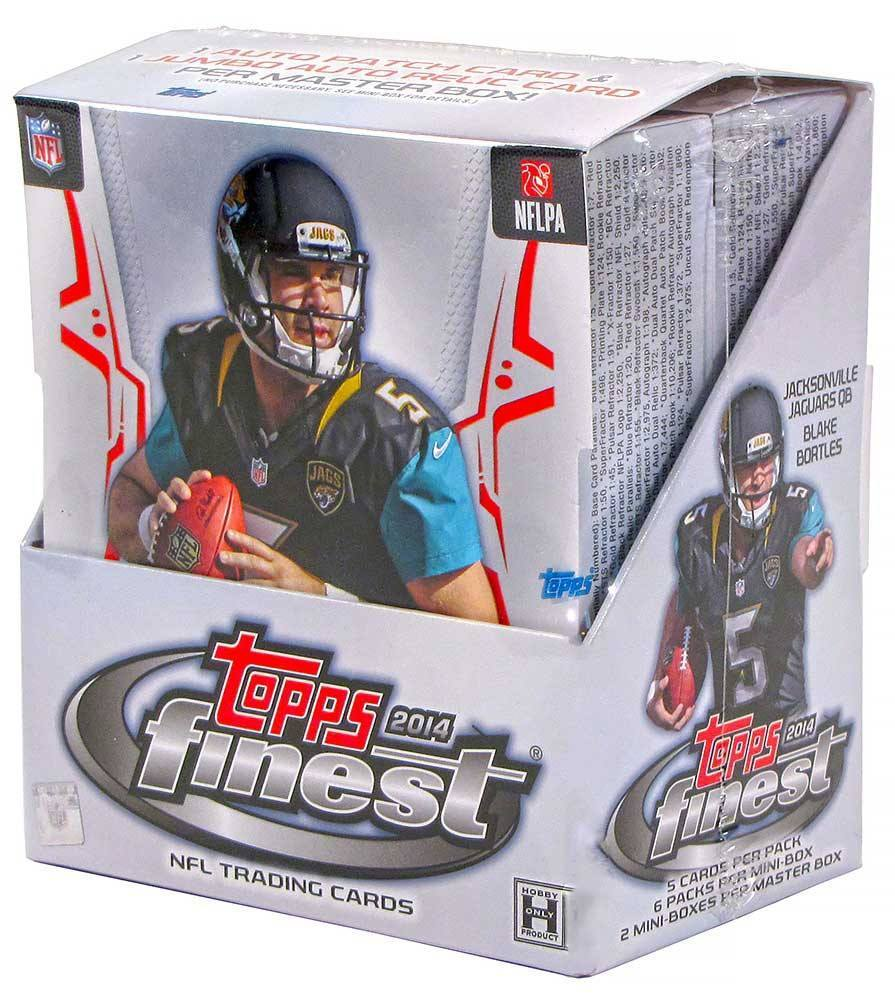 2014 Topps Finest Football Hobby Box-Cherry Collectables