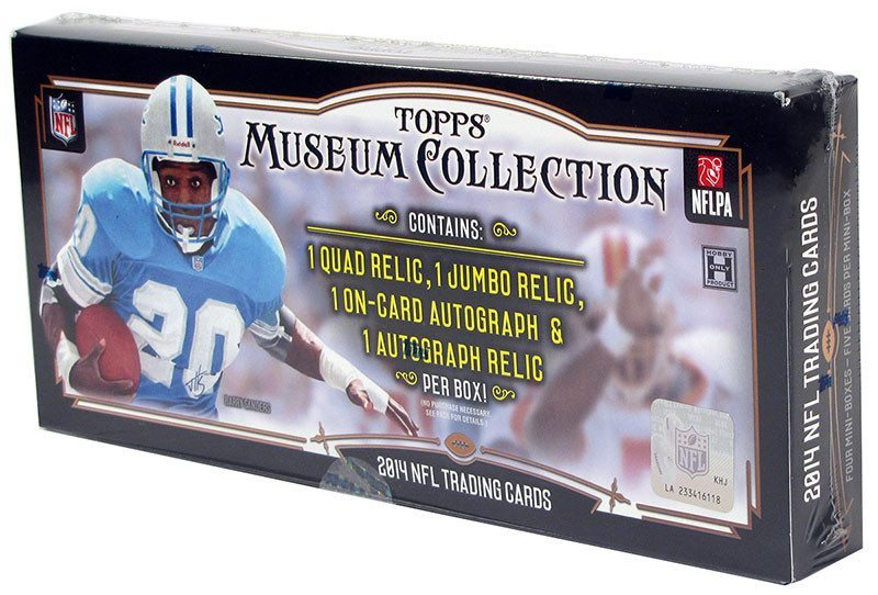 2014 Topps Museum Football Hobby Box-Cherry Collectables