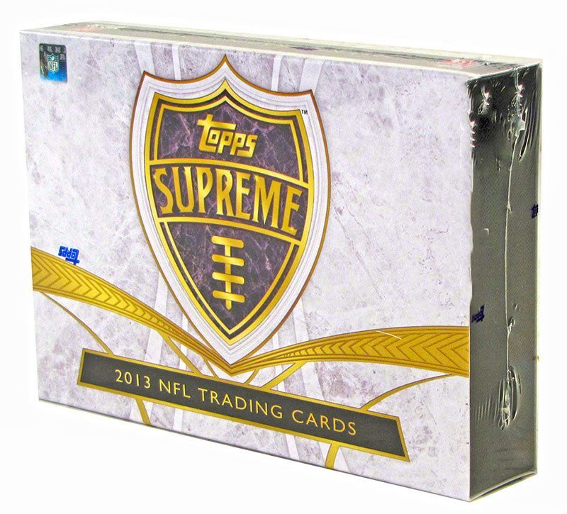 2014 Topps Supreme Football Hobby Box - Cherry Collectables