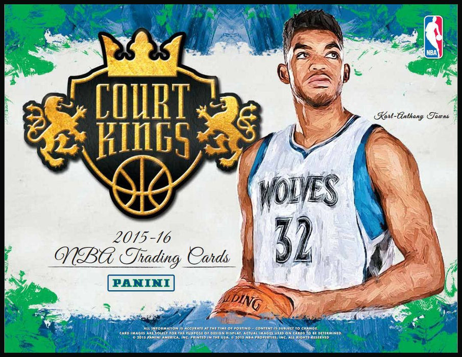 2015/16 Panini Court Kings Basketball Hobby Box-Cherry Collectables