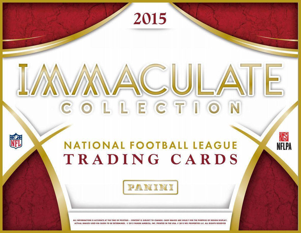2015 Panini Immaculate Football Hobby Box-Cherry Collectables