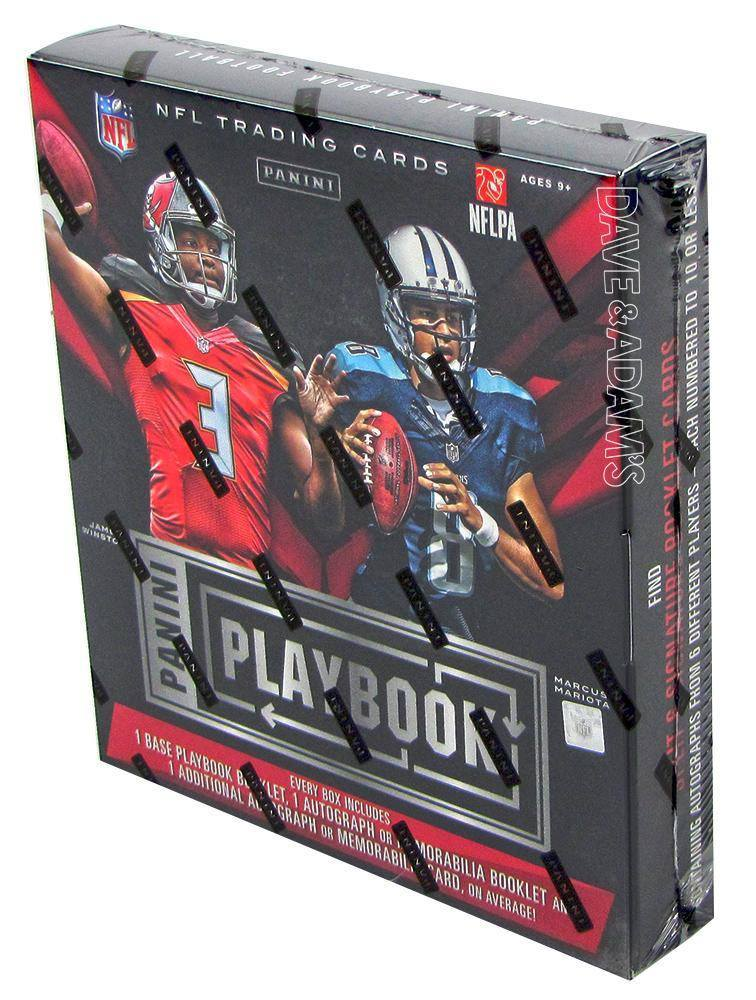 2015 Panini Playbook Football Hobby Box-Cherry Collectables