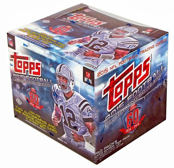 2015 Topps Football Jumbo Box-Cherry Collectables