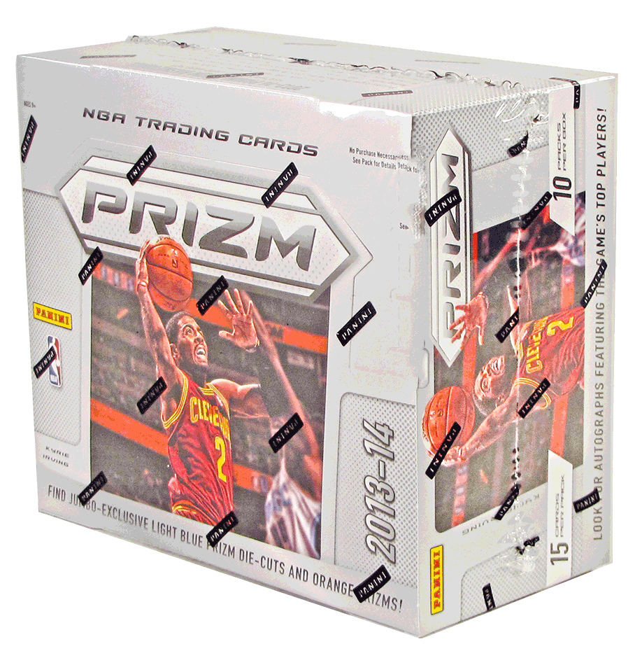 Panini 2013-14 Prizm Basketball Jumbo Box-Cherry Collectables