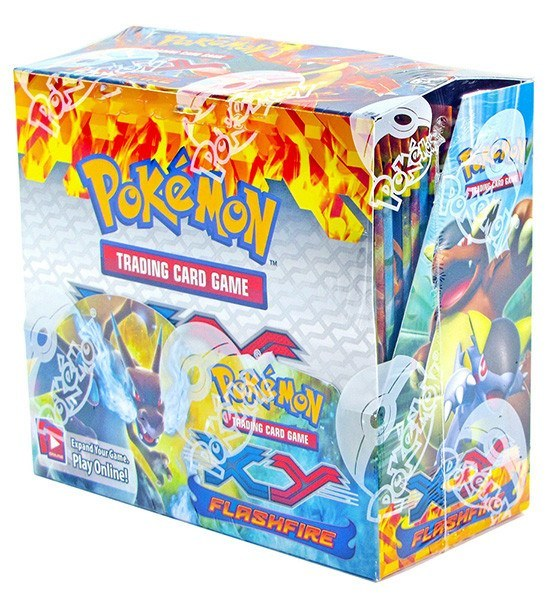Pokemon XY Flashfire Booster Box-Cherry Collectables