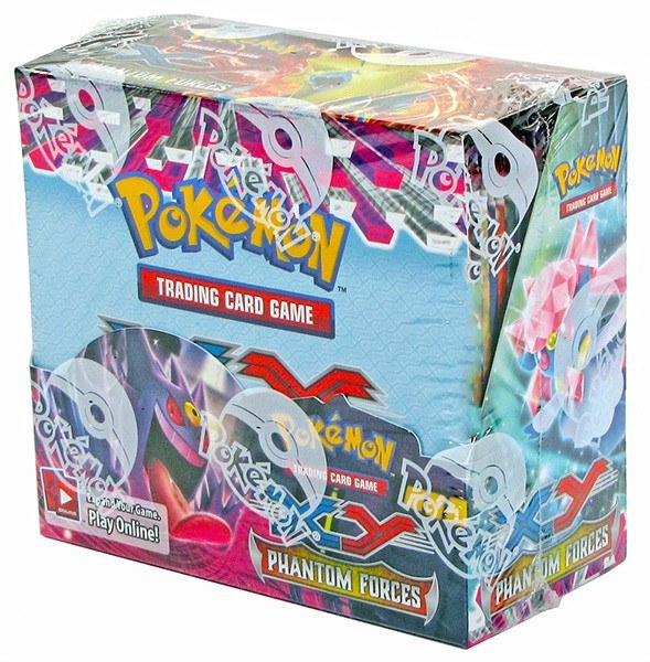 Pokemon XY Phantom Forces Booster Box-Cherry Collectables