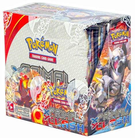 Pokemon XY Primal Clash Booster Box - Cherry Collectables