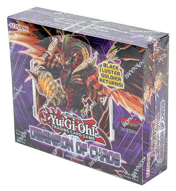 Yu-Gi-Oh! Dimension Of Chaos Booster Box-Cherry Collectables
