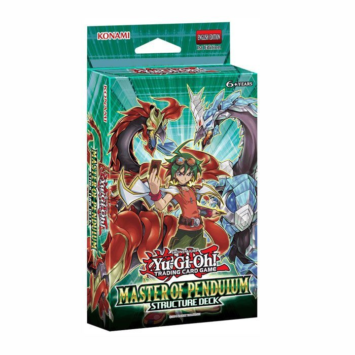 Yu-Gi-Oh! Master Of Pendulum Structure Deck-Cherry Collectables