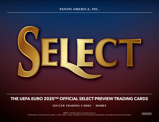 2020 Panini Select UEFA EURO Soccer 3-Box Break #0769 - Random Team - September 23-Cherry Collectables