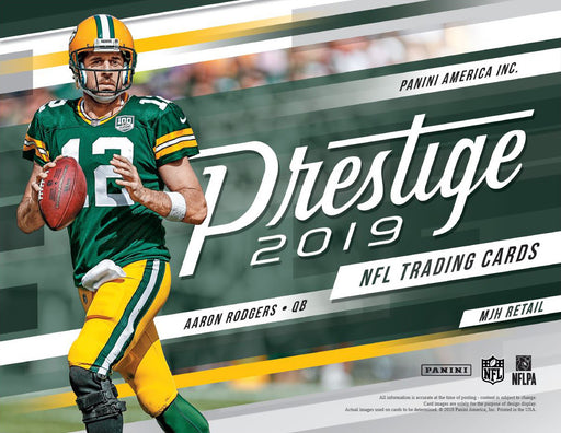 2019 Prestige NFL Football Blaster (Pre Order Jul)-Cherry Collectables