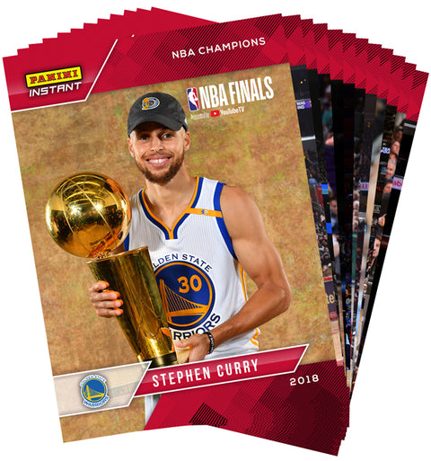 Golden State Warriors Panini Instant 30-Card 2018 NBA Champions Team Set (Pre Order Jun)-Cherry Collectables
