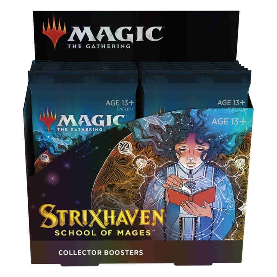 Magic the Gathering Strixhaven: School of Mages Collector Booster Box (Pre Order Apr 23)-Cherry Collectables