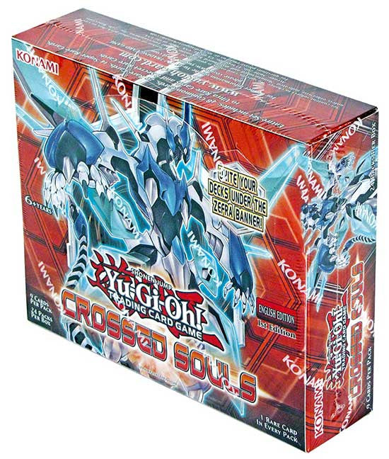 Yu-Gi-Oh! Crossed Souls Booster Box-Cherry Collectables
