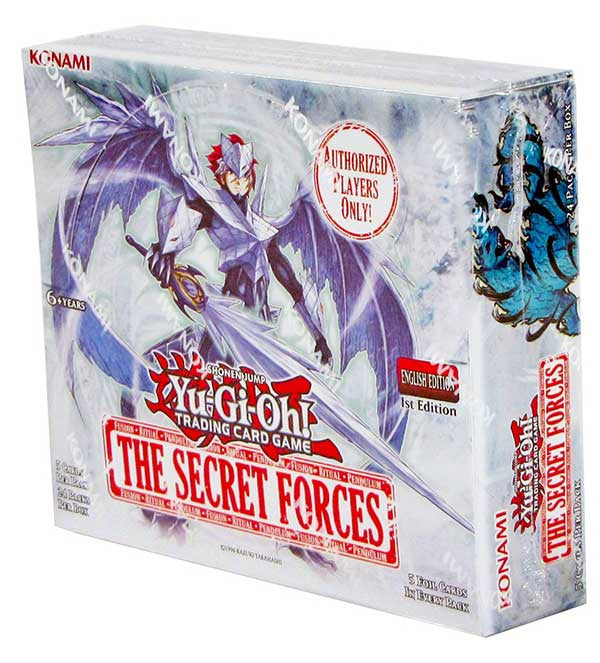 Yu-Gi-Oh! The Secret Forces Booster Box-Cherry Collectables