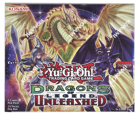 Yu-GI-Oh! Dragons of Legend Unleashed Booster Box