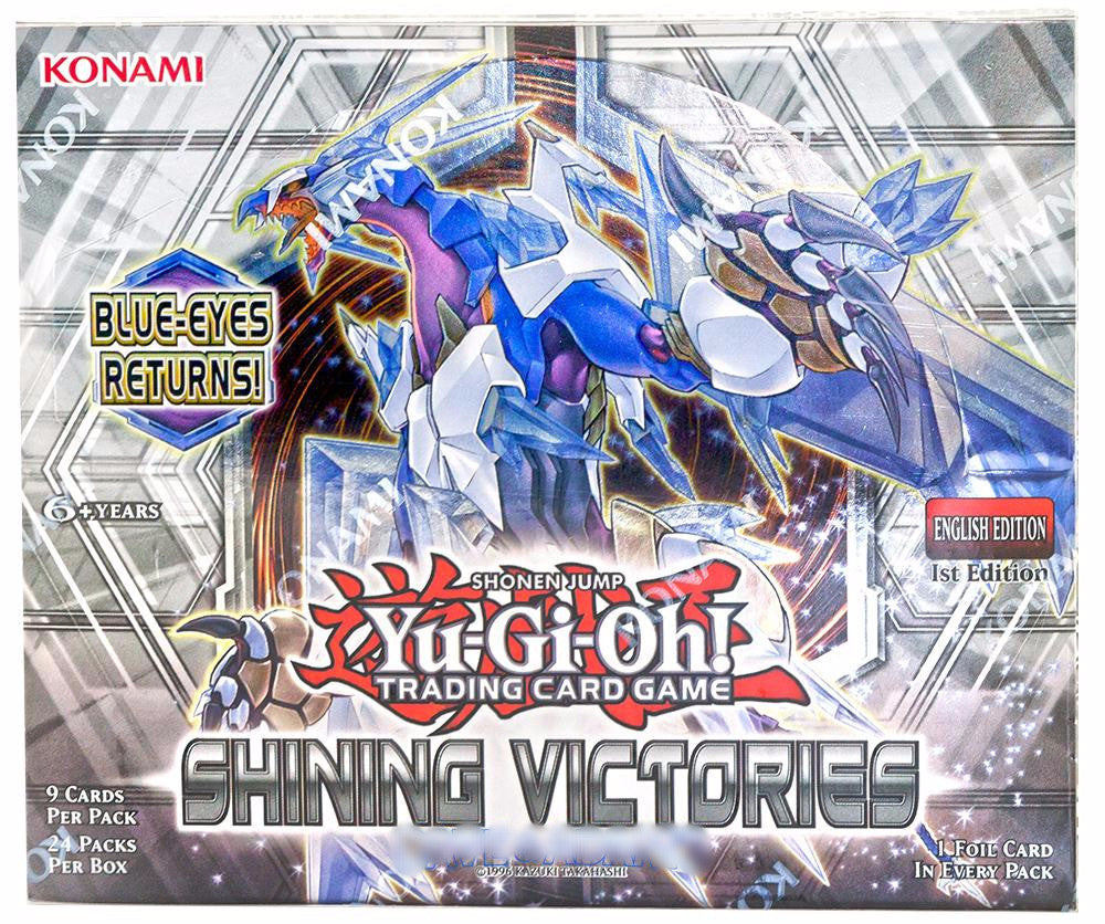 Yu-GI-Oh! Shining Victories Booster Box - Cherry Collectables - 1