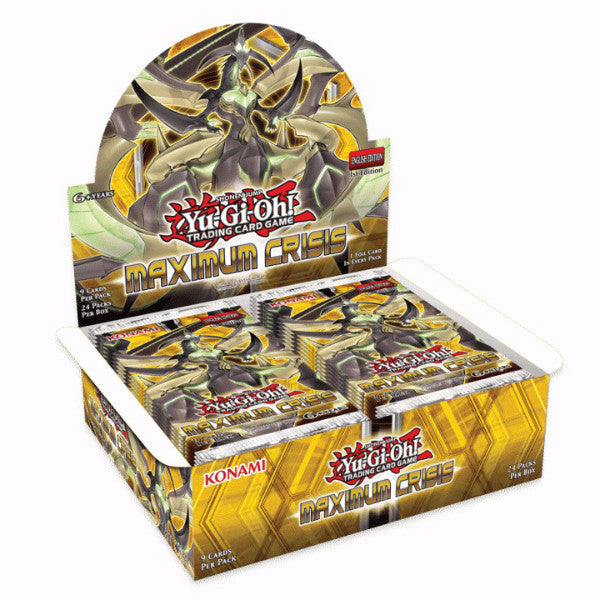 Yu-Gi-Oh! TCG Maximum Crisis Booster Box-Cherry Collectables