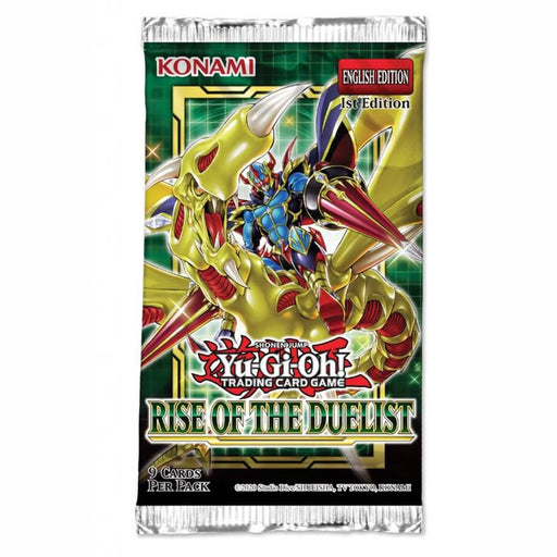 YU-GI-OH! TCG Rise of the Duelist Booster Pack (Pre Order Aug 6)-Cherry Collectables