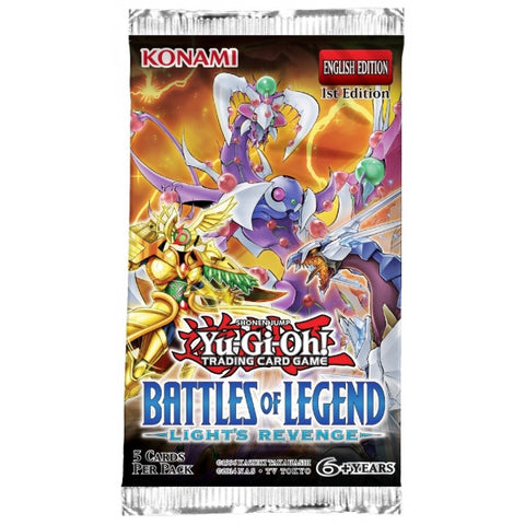 Yu-Gi-Oh! TCG Battles of Legend Light's Revenge Booster Pack-Cherry Collectables