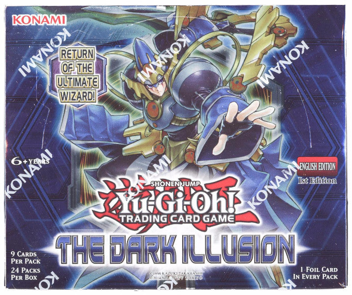 Yu-GI-Oh! The Dark Illusion Booster Box-Cherry Collectables