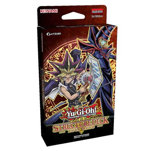 Yu-Gi-Oh! Yugi Muto Structure Deck - Three Pack-Cherry Collectables