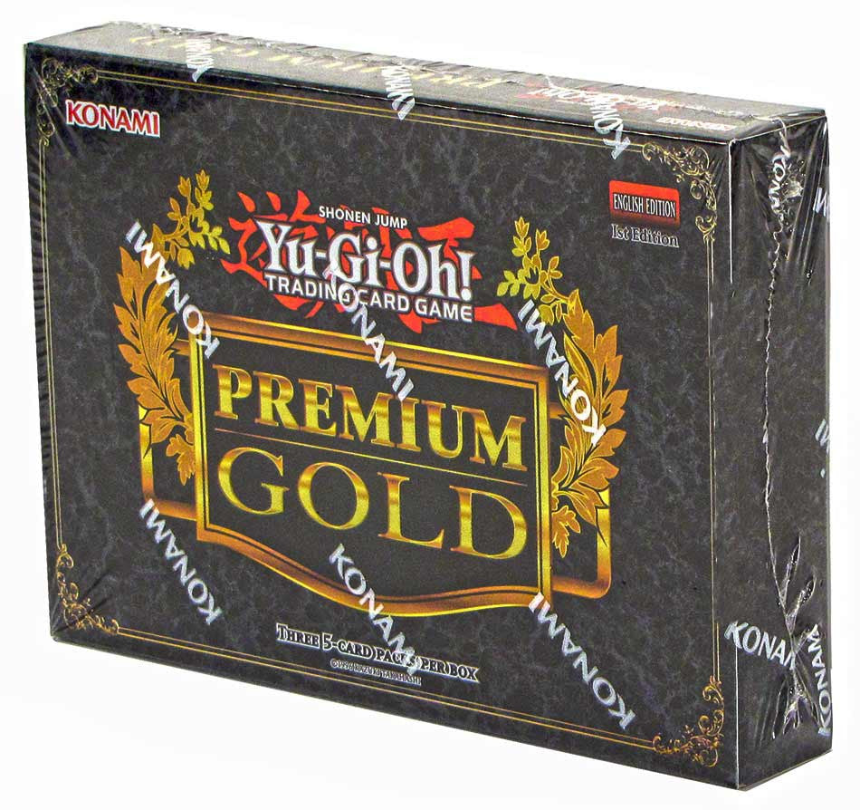 Yu-Gi-Oh! Collector Set - Premium Gold 'King of Bling' Mini Box-Cherry Collectables