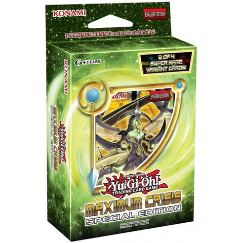 Yu-Gi-Oh! TCG Maximum Crisis Special Edition Pack-Cherry Collectables