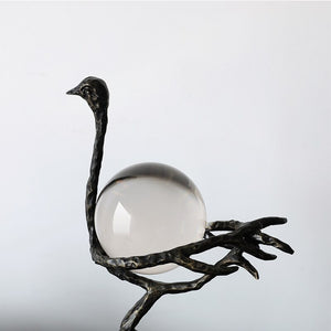 Ostrich Crystal Ball
