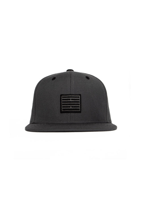 Dark Grey Brick Cap