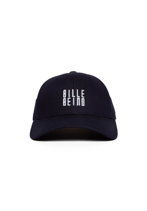 Navy Blue Curve Billebeino Cap