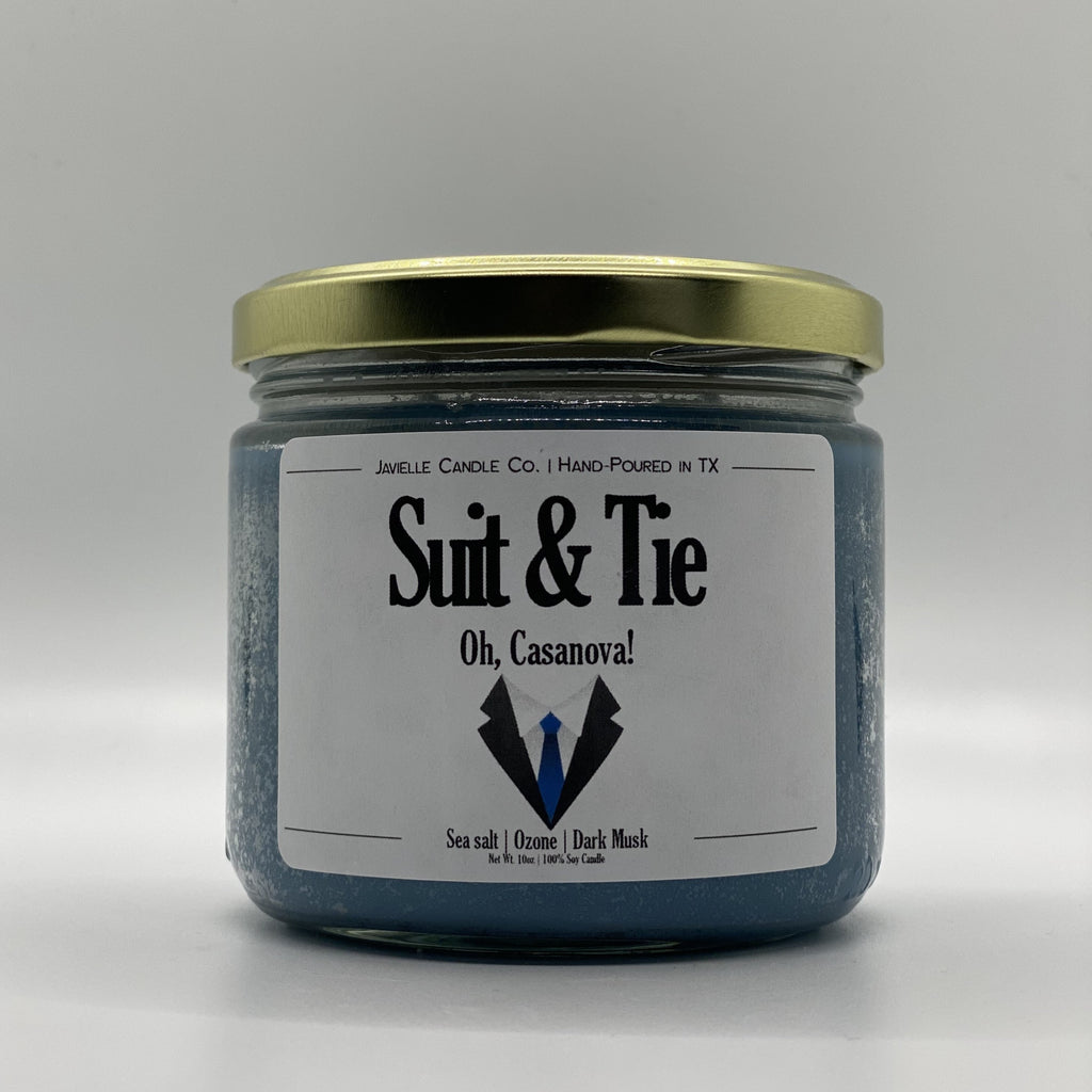 Suit & Tie Soy Candle
